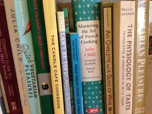 The dining room: cookbooks, naturally!