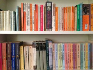 A rainbow of treasured fiction.