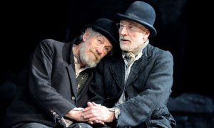 Ian McKellen and Patrick Stewart in Waiting for Godot