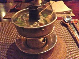 Steamboat soup