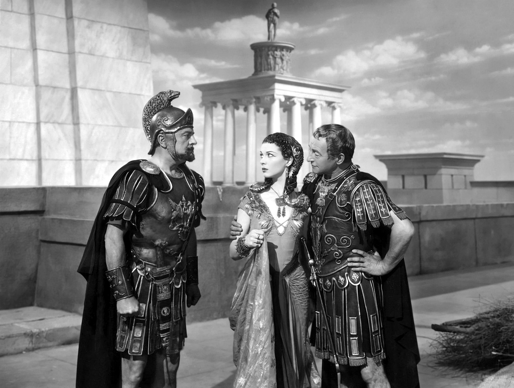 ceasar and cleopatras relationship