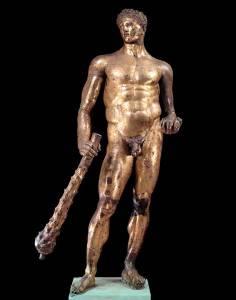 statua_di_ercole_in_bronzo_dorato