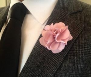lapel-flower