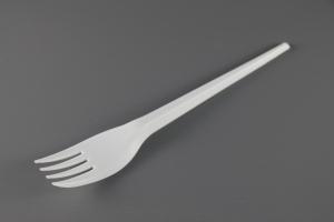 7'' Plastic Fork (W)