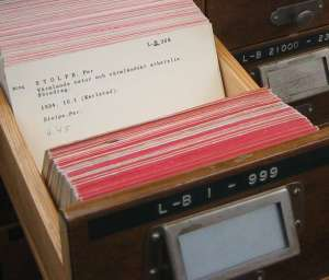 LA2-katalogkort