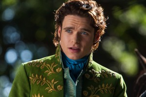 Richard Madden is the Prince in Disney's live-action CINDERELLA, directed by Kenneth Branagh.