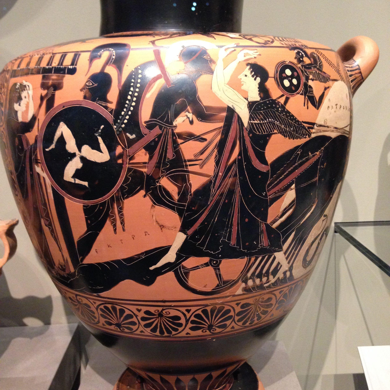 The delights of greek vase painting boston mfa linnet moss achilleshektor reviewsmspy