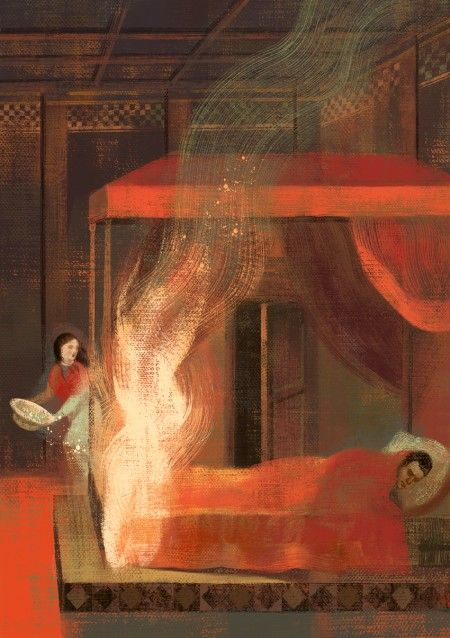 fire symbolism in jane eyre