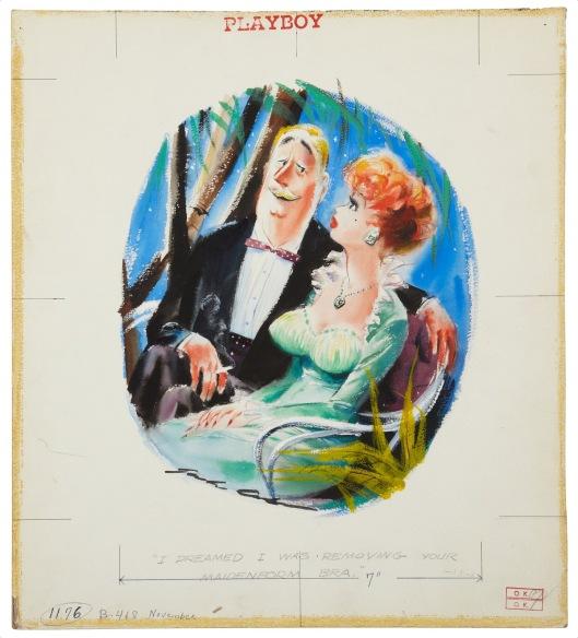 Jack Cole.Original Art. Playboy Dec 1957[3]