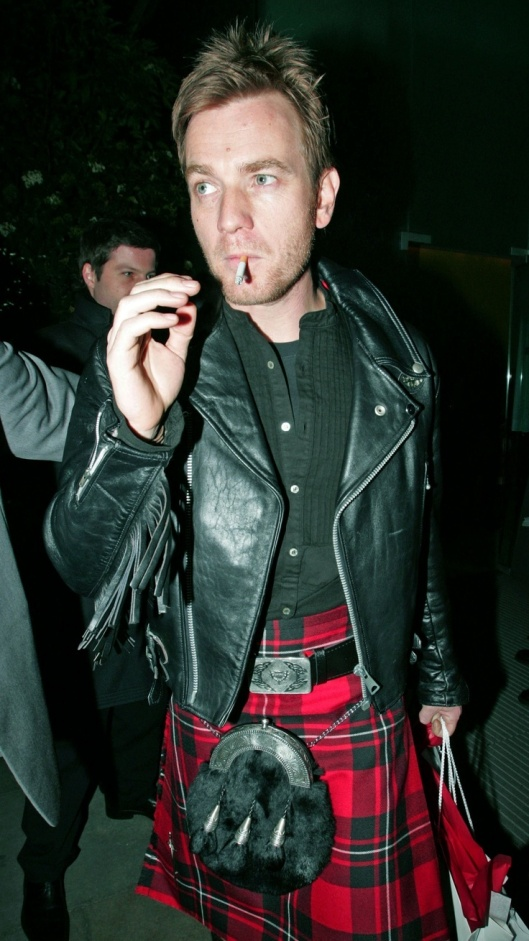 PICTURE BY: © CHAPMAN - COPETTI / MATRIXPHOTOS.COM PLEASE CREDIT ALL USES Celebrities pictured attending the St Martins Lane Hotel, Burns Night Party in London. UK. Picture shows: Ewan McGregor 25TH JANUARY 2007 JOB: 45984 TEL: +44 845 345 7072