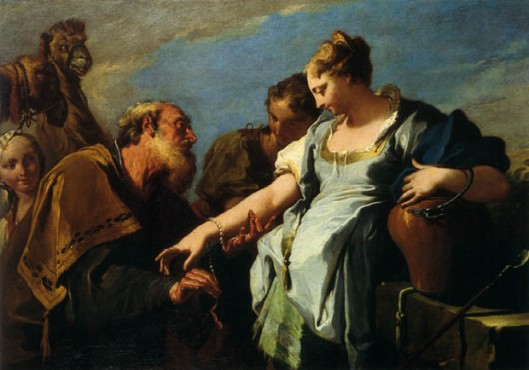 Pittoni_Giambattista_-_Eliezer_and_Rebecca_-_18th_c